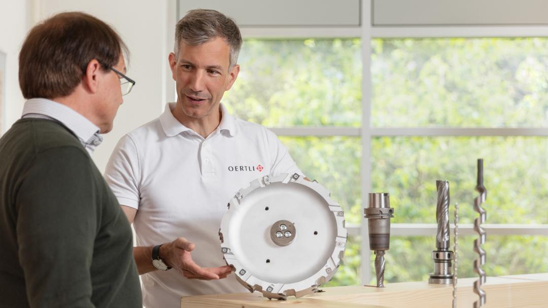 Firma OERTLI Werkzeuge Kundenberatung